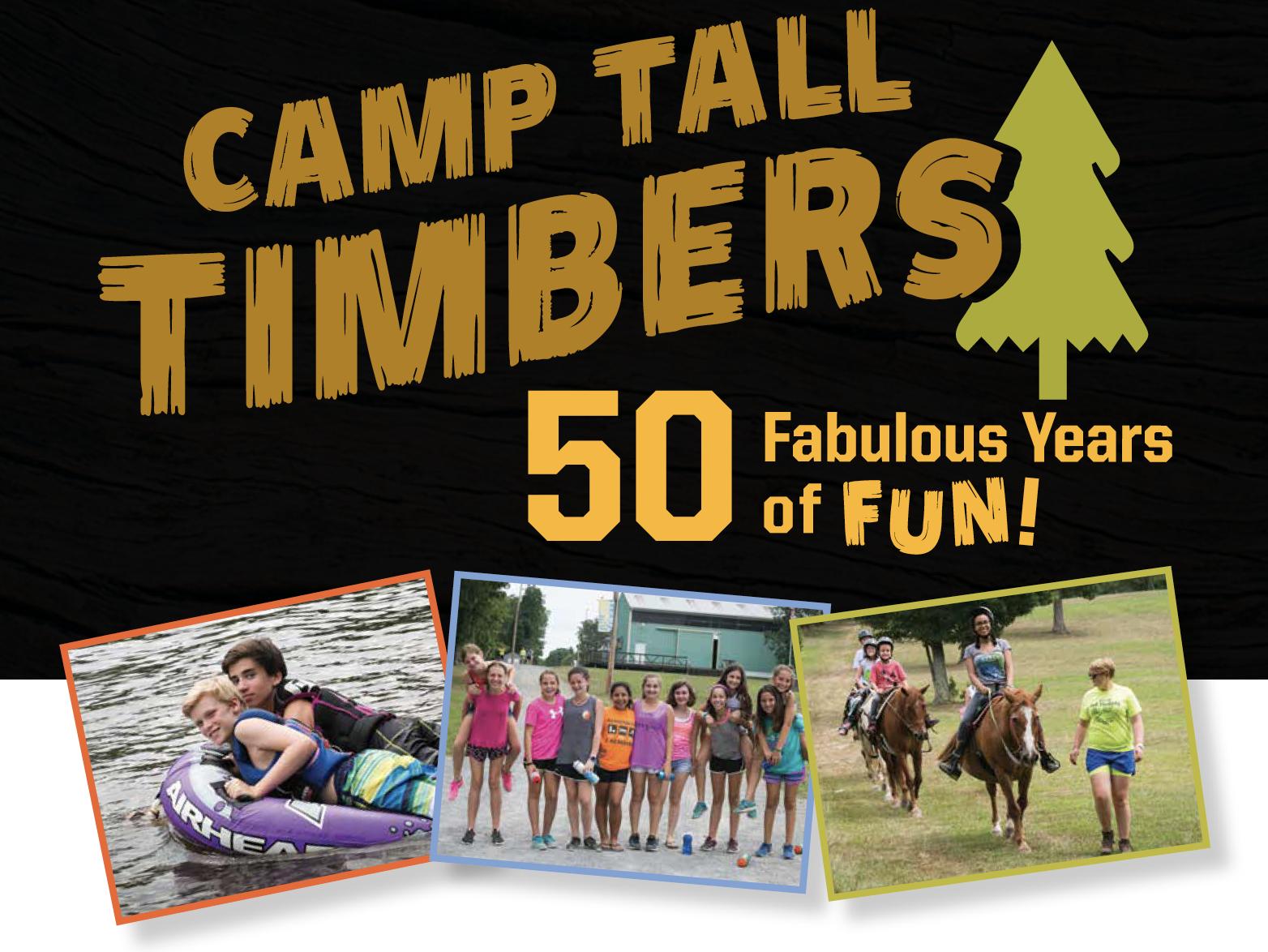 Celebrating 50 years of Camp Fun!